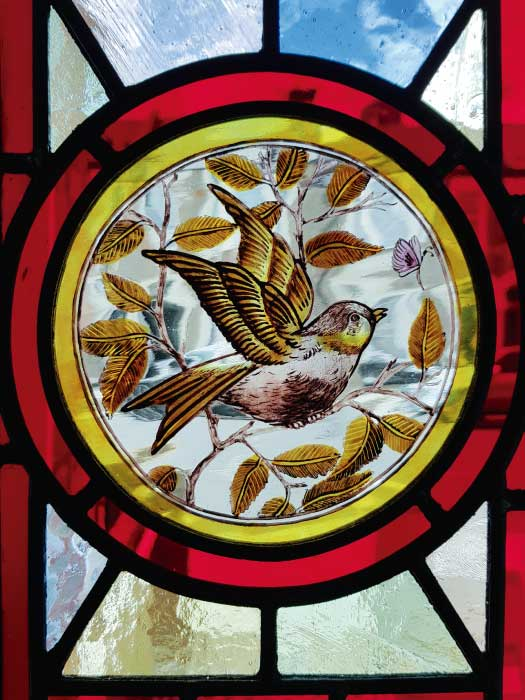 V37 VICTORIAN STAINED GLASS