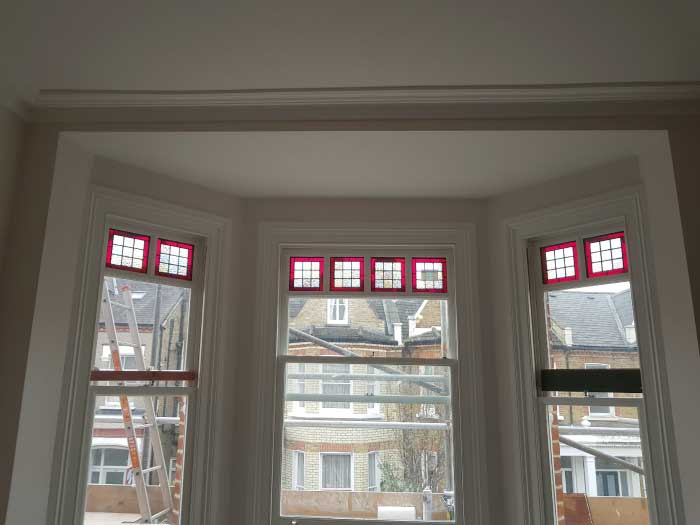 V42 VICTORIAN STAINED GLASS