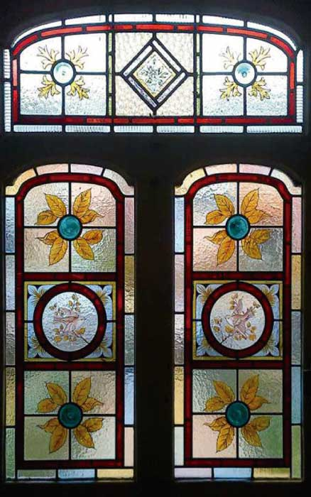 V3 VICTORIAN STAINED GLASS