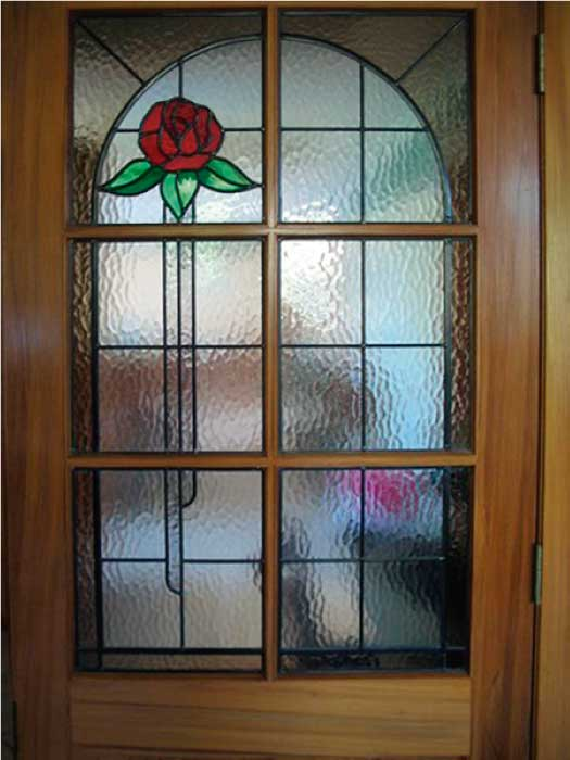 N5 ART NOUVEAU STAINED GLASS