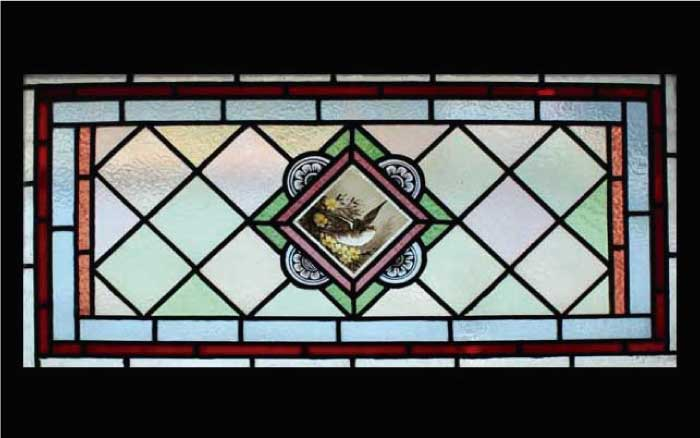 V5 VICTORIAN STAINED GLASS