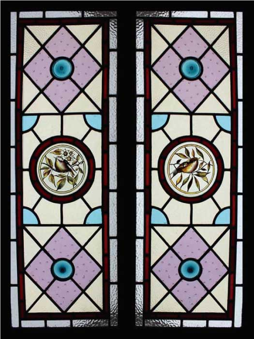 V6 VICTORIAN STAINED GLASS