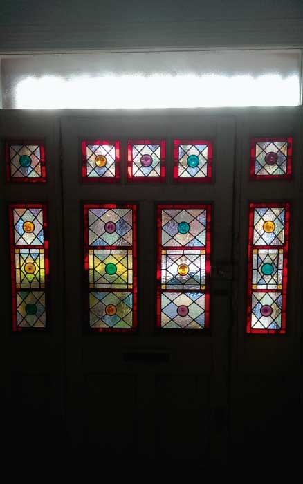 V23 VICTORIAN STAINED GLASS