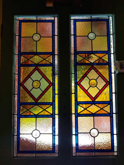 V30 VICTORIAN STAINED GLASS