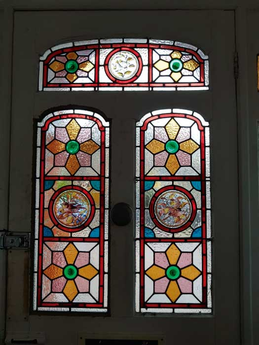 V40 VICTORIAN STAINED GLASS