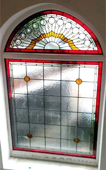 V14 VICTORIAN STAINED GLASS