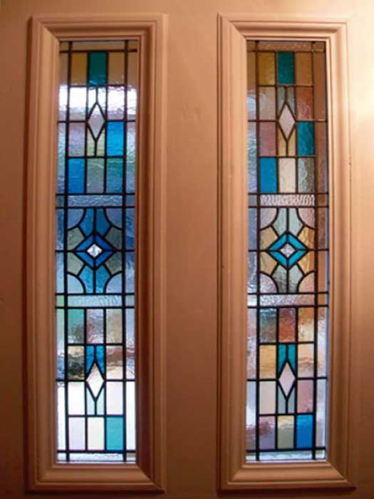 V7 VICTORIAN STAINED GLASS