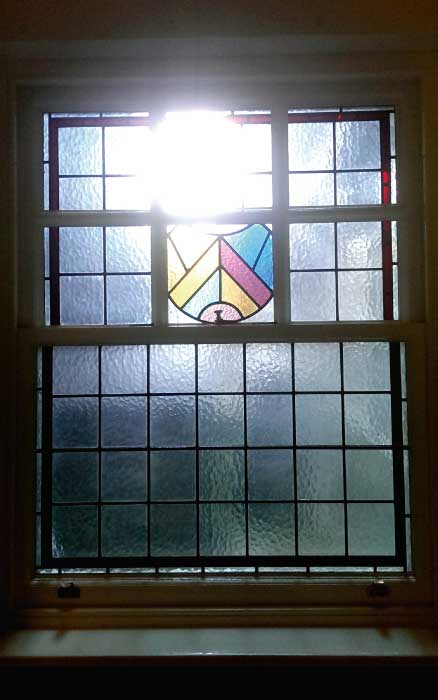 E19 EDWARDIAN STAINED GLASS