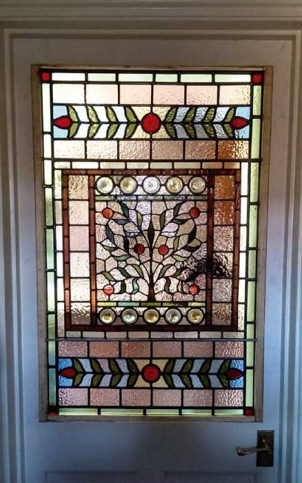 V16 VICTORIAN STAINED GLASS