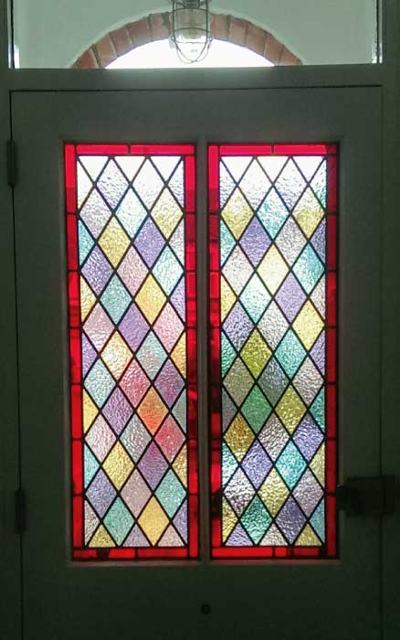 V17 VICTORIAN STAINED GLASS
