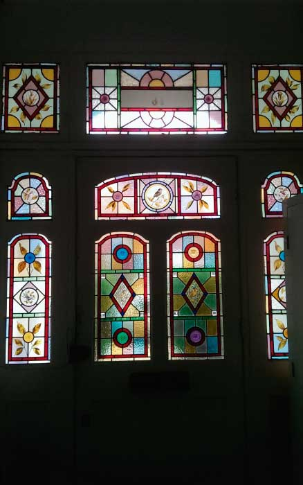 V19 VICTORIAN STAINED GLASS