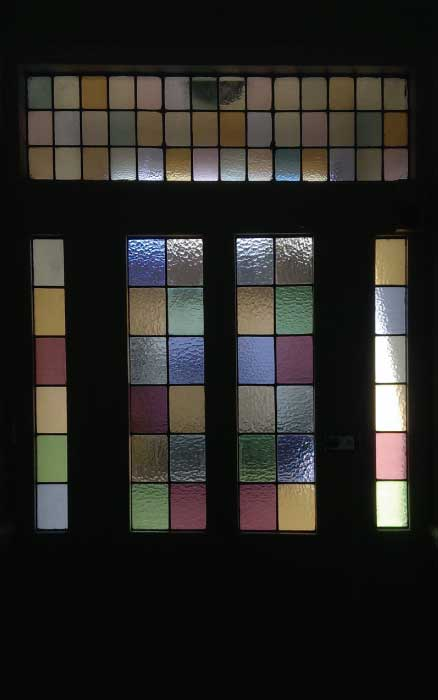 V20 VICTORIAN STAINED GLASS