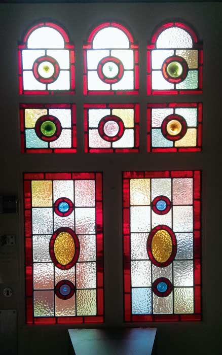 V21 VICTORIAN STAINED GLASS