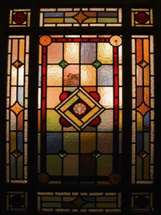 V1 VICTORIAN STAINED GLASS