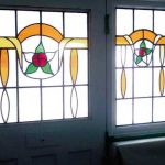 1930's / Art-Deco Stained Glass