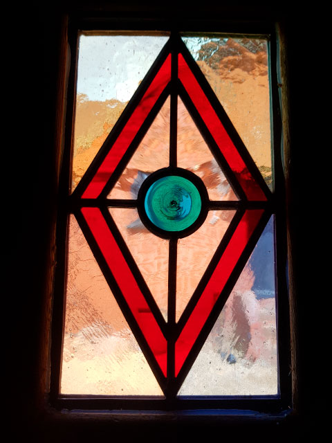 V50 VICTORIAN STAINED GLASS