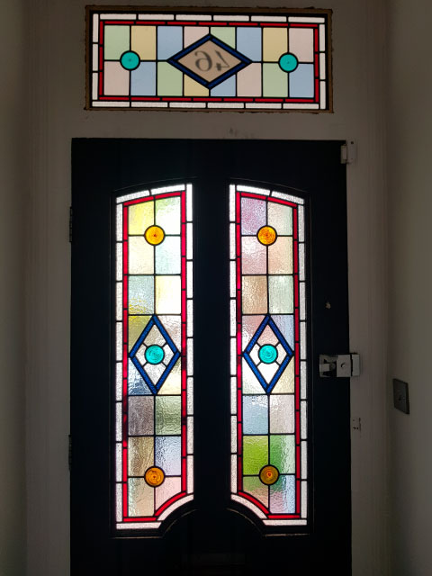 V51 VICTORIAN STAINED GLASS