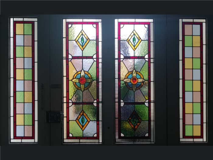 V54 VICTORIAN STAINED GLASS