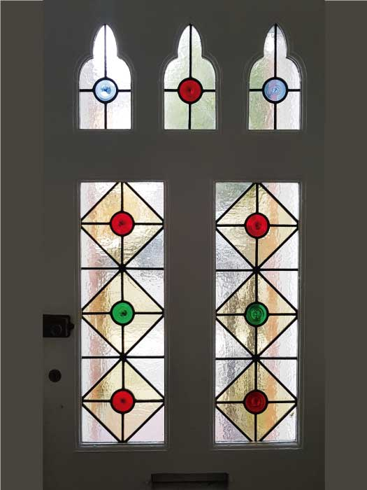 V58 VICTORIAN STAINED GLASS